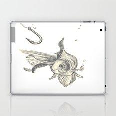 fishing in the fish tank Laptop & iPad Skin