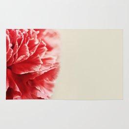 Red Carnation Rug
