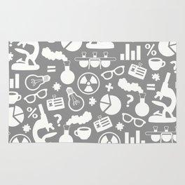 Grey Scientist Rug