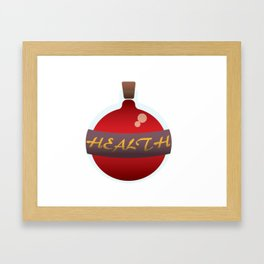 Health Potion Framed Art Print