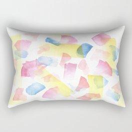 180527 Watercolour Abstract 10  Watercolor Brush Strokes Rectangular Pillow