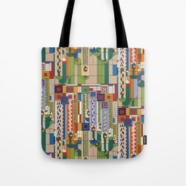 FLW Saguaro Tote Bag
