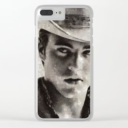 Ricky Nelson by MB Clear iPhone Case