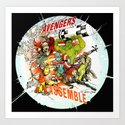 """Avengers Assemble! - a """"you're COLOR"""" promo by jaseycrowl"""