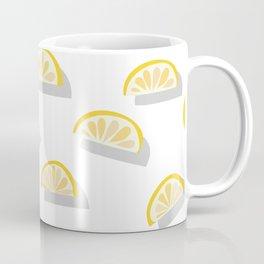 Orange pattern - cut in pieces Coffee Mug
