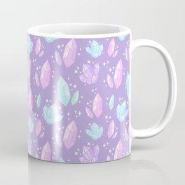 Magical Crystals // Purple Coffee Mug