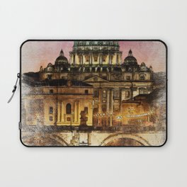The City of Rome Laptop Sleeve