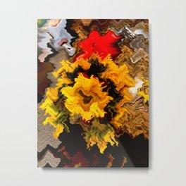 Abstract phot Metal Print