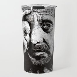 Al Pacino Portrait Travel Mug