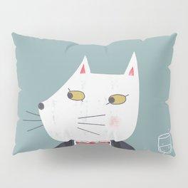 Cheers! Gentleman Cat Pillow Sham