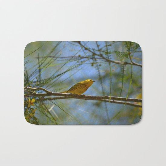 Warbler Bath Mat