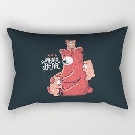 Mama Bear Rectangular Pillow