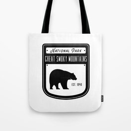 Great Smoky Mountains Tote Bag