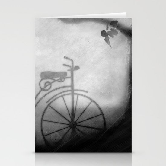 my bicycle Stationery Cards
