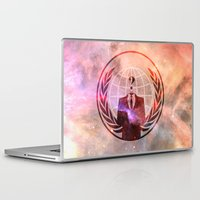anonymous Laptop & iPad Skins featuring Anonymous by Sney1
