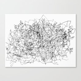 Triumph Over Chaos. Canvas Print