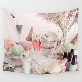 Ice Cream Tea Wall Tapestry