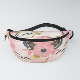 Night Meadow Blush Pink Fanny Pack