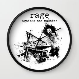 Rage Against the Machine Wall Clock