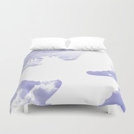 Peace All Over Duvet Cover