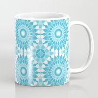 morocco Mugs featuring Morocco (Teal) by Kara Peters
