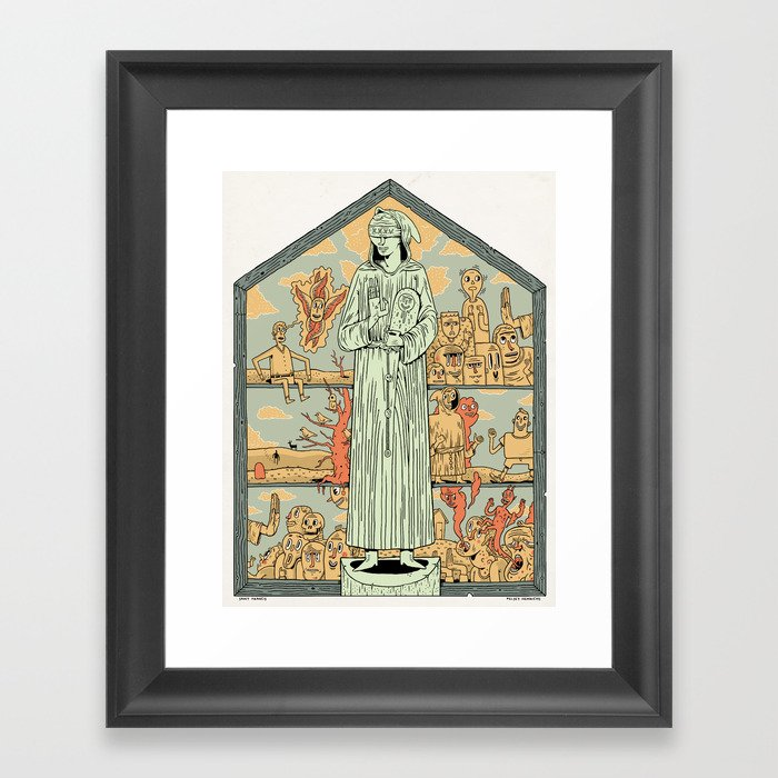 Saint Francis Framed Art Print
