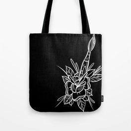 artsy rose Tote Bag