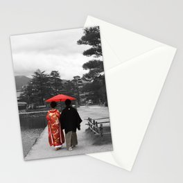 Getting married Matsumoto  Japan Stationery Cards