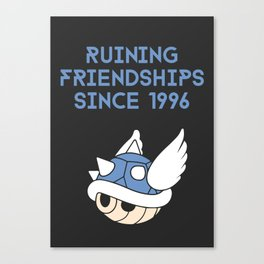 Video Game Enemies Canvas Print