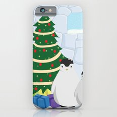 Penguins on Christmas Morning Slim Case iPhone 6s