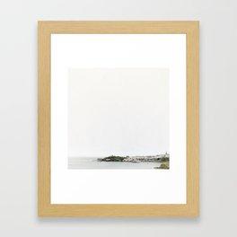 Welsh Coastline | Tenby, Pembrokeshire Framed Art Print