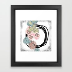 Urban Romance Framed Art Print