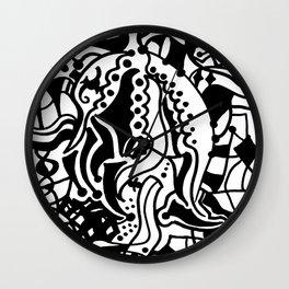 Hidden Genie Wall Clock