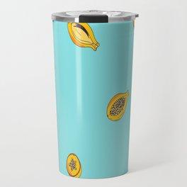 Exotic fruit - Papaya  Travel Mug
