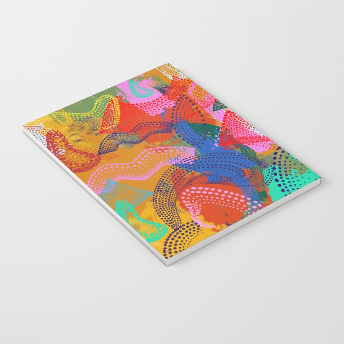 The Stipple Dots Abstract Notebook