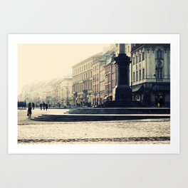 Starówka, Old Town Warsaw Art Print