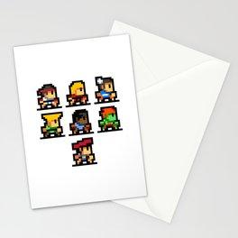 Minimalistic - Street Fighter - Pixel Art Stationery Cards