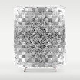 UFOlk 3 Shower Curtain