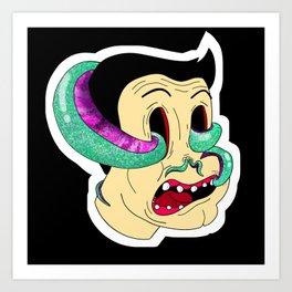 Curse of the Squid Art Print