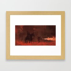 1920 - apocalypse day Framed Art Print