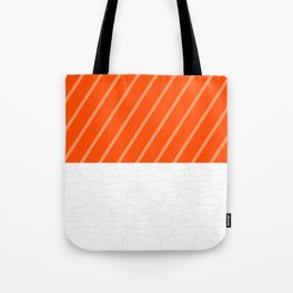 Simple Salmon Sushi Tote Bag