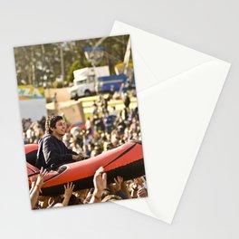 Slam Sur un Bateau // Crowd Boating, Falls Festival - Australie/Australia  Stationery Cards