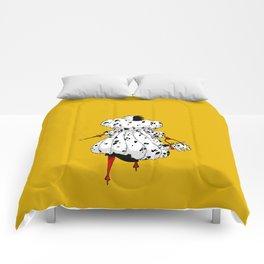 DeVil Always Wins Comforters