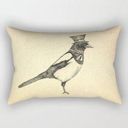Hello Mister Magpie Rectangular Pillow