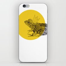 frog prince iPhone & iPod Skin