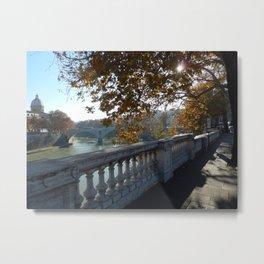 Vatican Riverview Metal Print