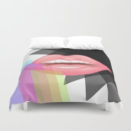 Abstractly a Fruit Duvet Cover