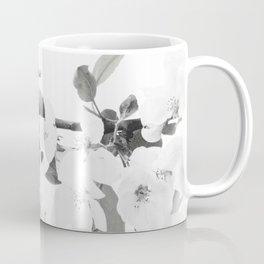 Beautiful Blossom in Black and White #decor #society6 #buyart Coffee Mug