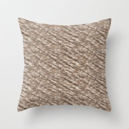 Desert Army Camouflage Throw Pillow