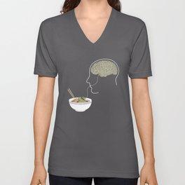 Noodle Brain Unisex V-Neck